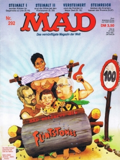 Go to MAD Magazine #292 • Germany • 1st Edition - Williams