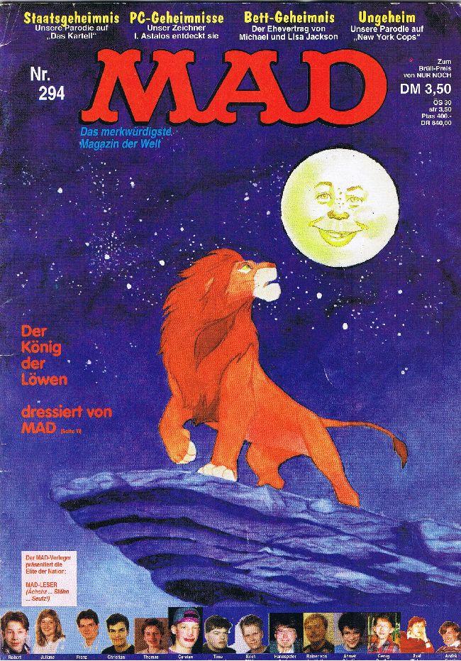 MAD Magazine #294 • Germany • 1st Edition - Williams