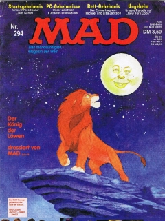 Go to MAD Magazine #294 • Germany • 1st Edition - Williams