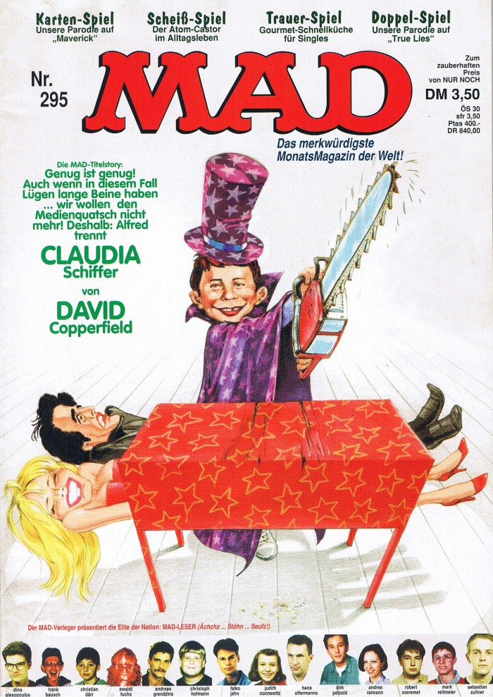 MAD Magazine #295 • Germany • 1st Edition - Williams