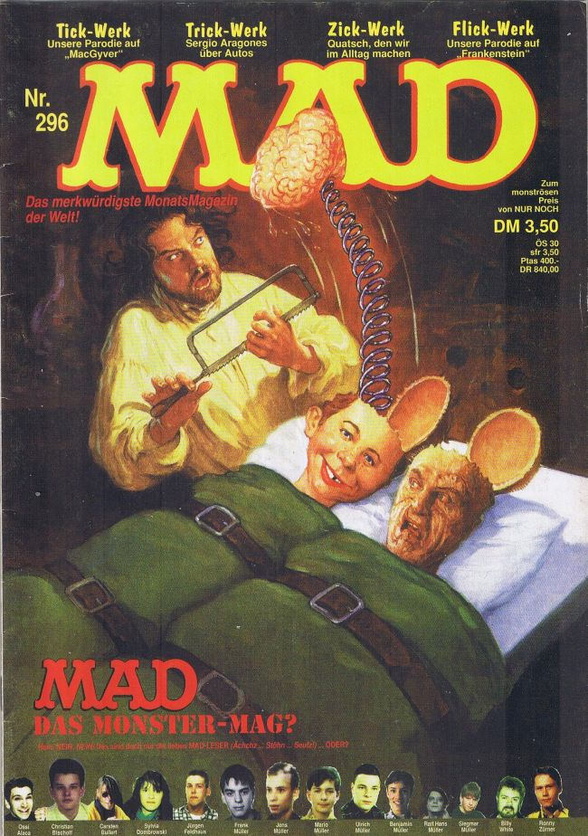 MAD Magazine #296 • Germany • 1st Edition - Williams