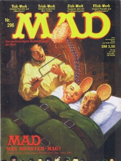 Go to MAD Magazine #296 • Germany • 1st Edition - Williams