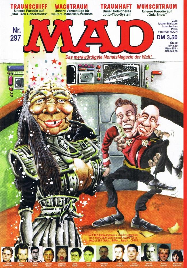 MAD Magazine #297 • Germany • 1st Edition - Williams