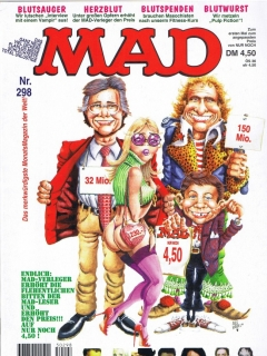 Go to MAD Magazine #298 • Germany • 1st Edition - Williams