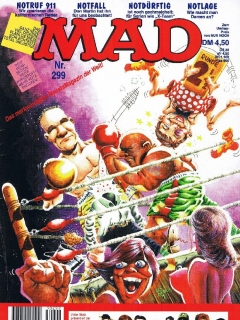 Go to MAD Magazine #299 • Germany • 1st Edition - Williams