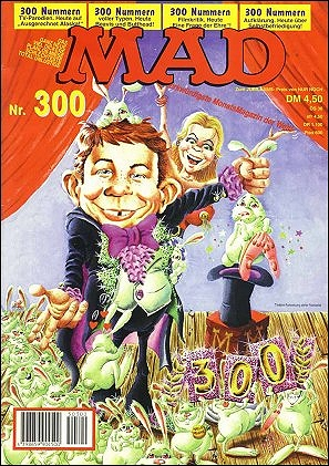 MAD Magazine #300 • Germany • 1st Edition - Williams