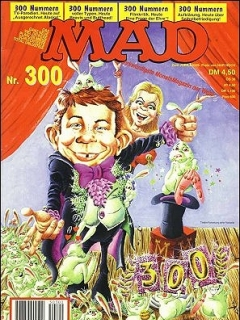 Go to MAD Magazine #300 • Germany • 1st Edition - Williams