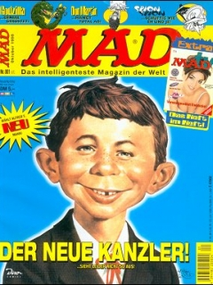 Go to MAD Magazine #1 • Germany • 2nd Edition - Dino/Panini