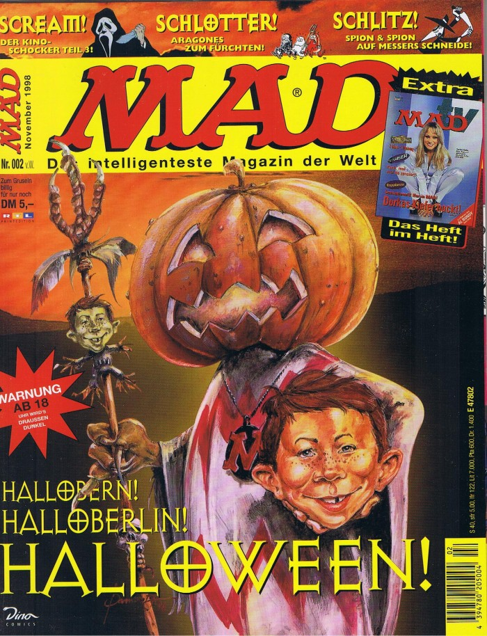 MAD Magazine #2 • Germany • 2nd Edition - Dino/Panini