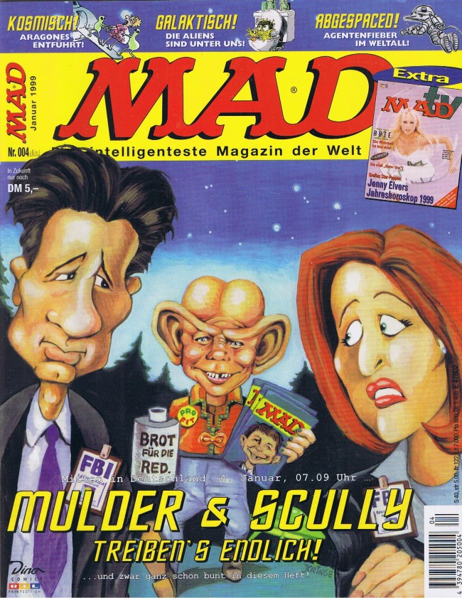 MAD Magazine #4 • Germany • 2nd Edition - Dino/Panini