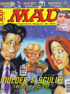 Go to MAD Magazine #4 • Germany • 2nd Edition - Dino/Panini