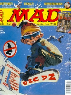 Go to MAD Magazine #5 • Germany • 2nd Edition - Dino/Panini