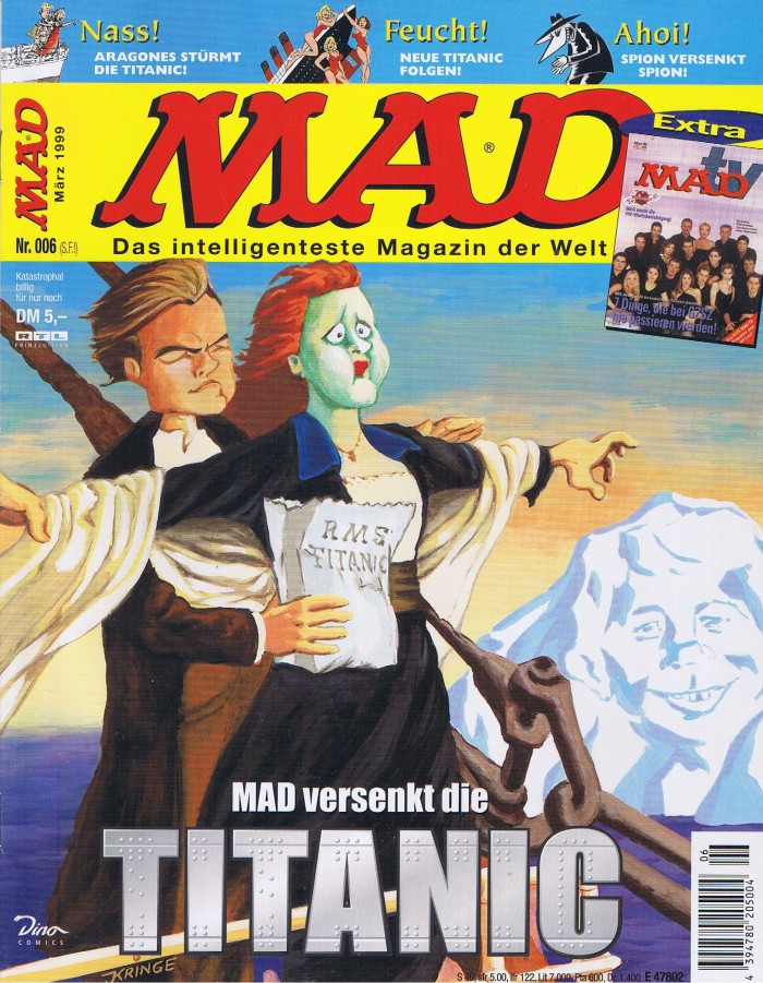 MAD Magazine #6 • Germany • 2nd Edition - Dino/Panini