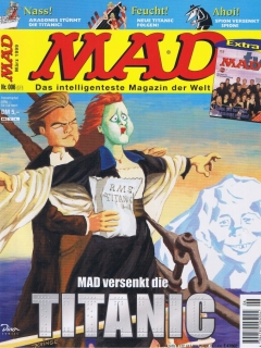 Go to MAD Magazine #6 • Germany • 2nd Edition - Dino/Panini