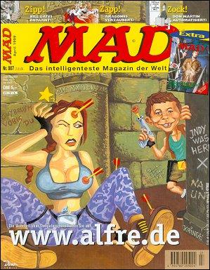 MAD Magazine #7 • Germany • 2nd Edition - Dino/Panini
