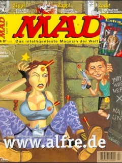 Go to MAD Magazine #7 • Germany • 2nd Edition - Dino/Panini