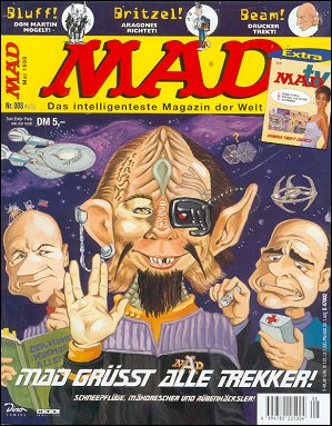 MAD Magazine #8 • Germany • 2nd Edition - Dino/Panini