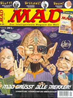 Go to MAD Magazine #8 • Germany • 2nd Edition - Dino/Panini