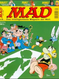 Go to MAD Magazine #9 • Germany • 2nd Edition - Dino/Panini