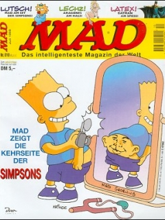 MAD Magazine #10 • Germany • 2nd Edition - Dino/Panini
