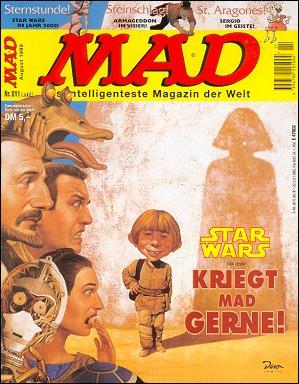 MAD Magazine #11 • Germany • 2nd Edition - Dino/Panini