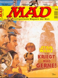 Go to MAD Magazine #11 • Germany • 2nd Edition - Dino/Panini