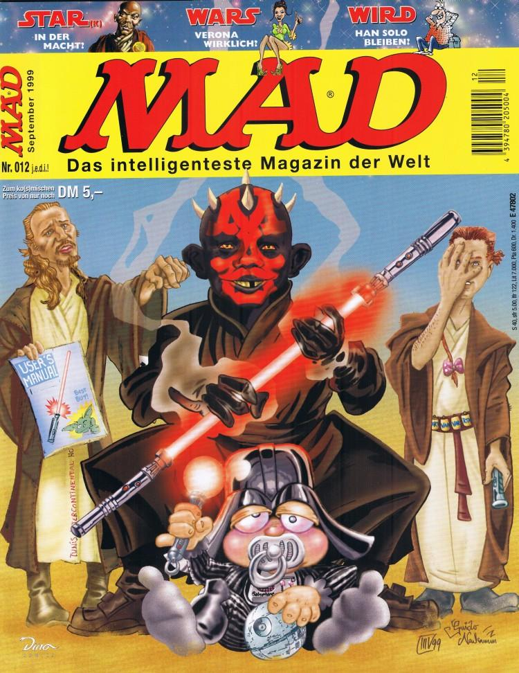MAD Magazine #12 • Germany • 2nd Edition - Dino/Panini