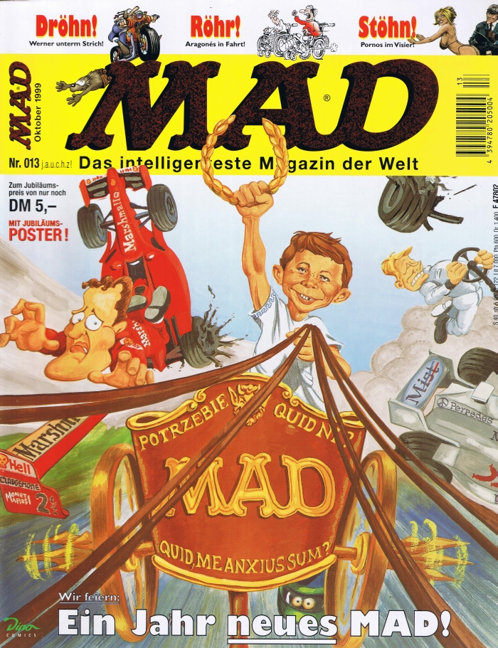 MAD Magazine #13 • Germany • 2nd Edition - Dino/Panini