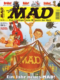 Go to MAD Magazine #13 • Germany • 2nd Edition - Dino/Panini