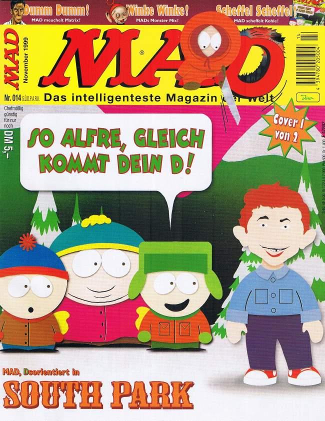 MAD Magazine #14 • Germany • 2nd Edition - Dino/Panini
