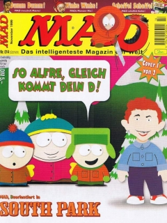 Go to MAD Magazine #14 • Germany • 2nd Edition - Dino/Panini