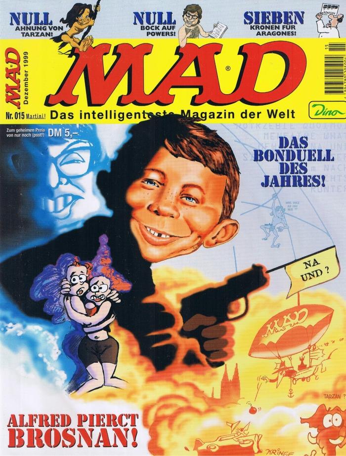 MAD Magazine #15 • Germany • 2nd Edition - Dino/Panini