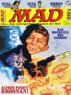 Go to MAD Magazine #15 • Germany • 2nd Edition - Dino/Panini
