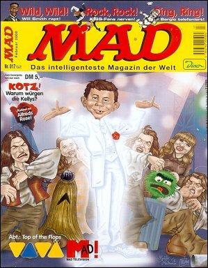 MAD Magazine #17 • Germany • 2nd Edition - Dino/Panini