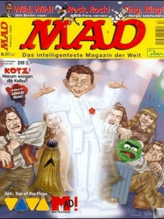 Go to MAD Magazine #17 • Germany • 2nd Edition - Dino/Panini