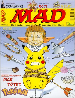 MAD Magazine #18 • Germany • 2nd Edition - Dino/Panini