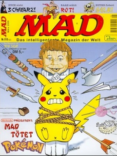Go to MAD Magazine #18 • Germany • 2nd Edition - Dino/Panini