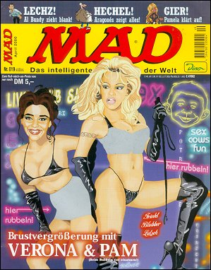 MAD Magazine #19 • Germany • 2nd Edition - Dino/Panini
