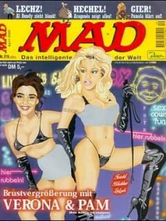 Go to MAD Magazine #19 • Germany • 2nd Edition - Dino/Panini