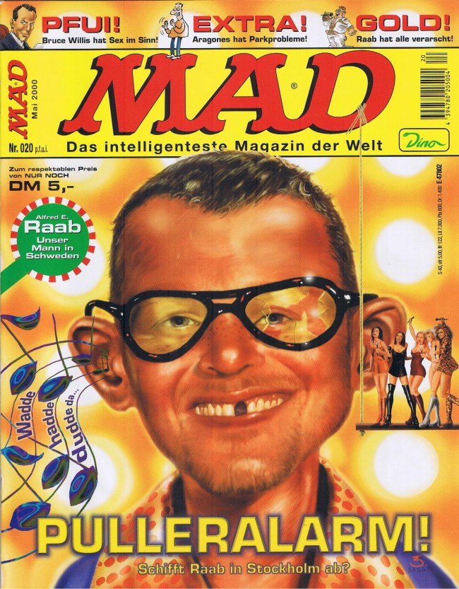 MAD Magazine #20 • Germany • 2nd Edition - Dino/Panini