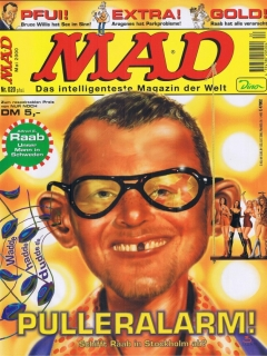 Go to MAD Magazine #20 • Germany • 2nd Edition - Dino/Panini