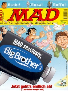 Go to MAD Magazine #21 • Germany • 2nd Edition - Dino/Panini
