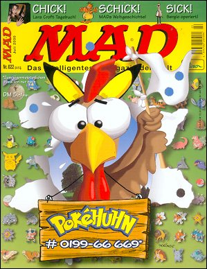 MAD Magazine #22 • Germany • 2nd Edition - Dino/Panini