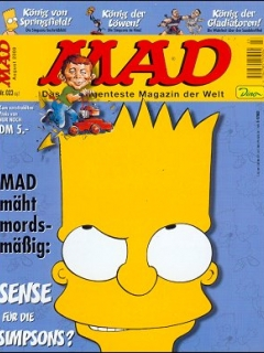 Go to MAD Magazine #23 • Germany • 2nd Edition - Dino/Panini