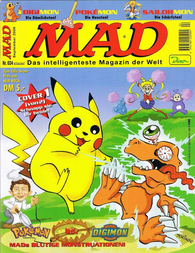 MAD Magazine #24 • Germany • 2nd Edition - Dino/Panini