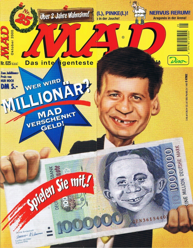 MAD Magazine #25 • Germany • 2nd Edition - Dino/Panini