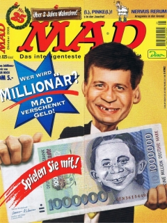 Go to MAD Magazine #25 • Germany • 2nd Edition - Dino/Panini