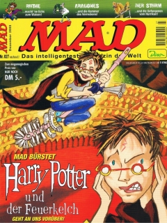 Go to MAD Magazine #27 • Germany • 2nd Edition - Dino/Panini