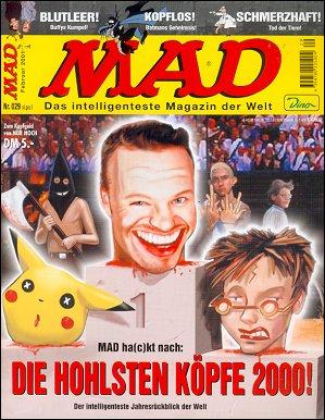 MAD Magazine #29 • Germany • 2nd Edition - Dino/Panini