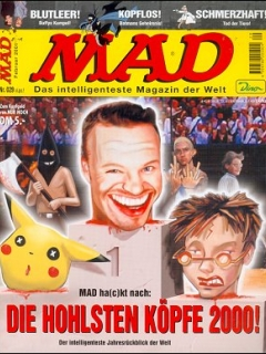 Go to MAD Magazine #29 • Germany • 2nd Edition - Dino/Panini